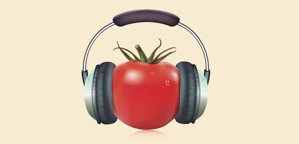 Tomate e música para focar com a técnica Pomodoro
