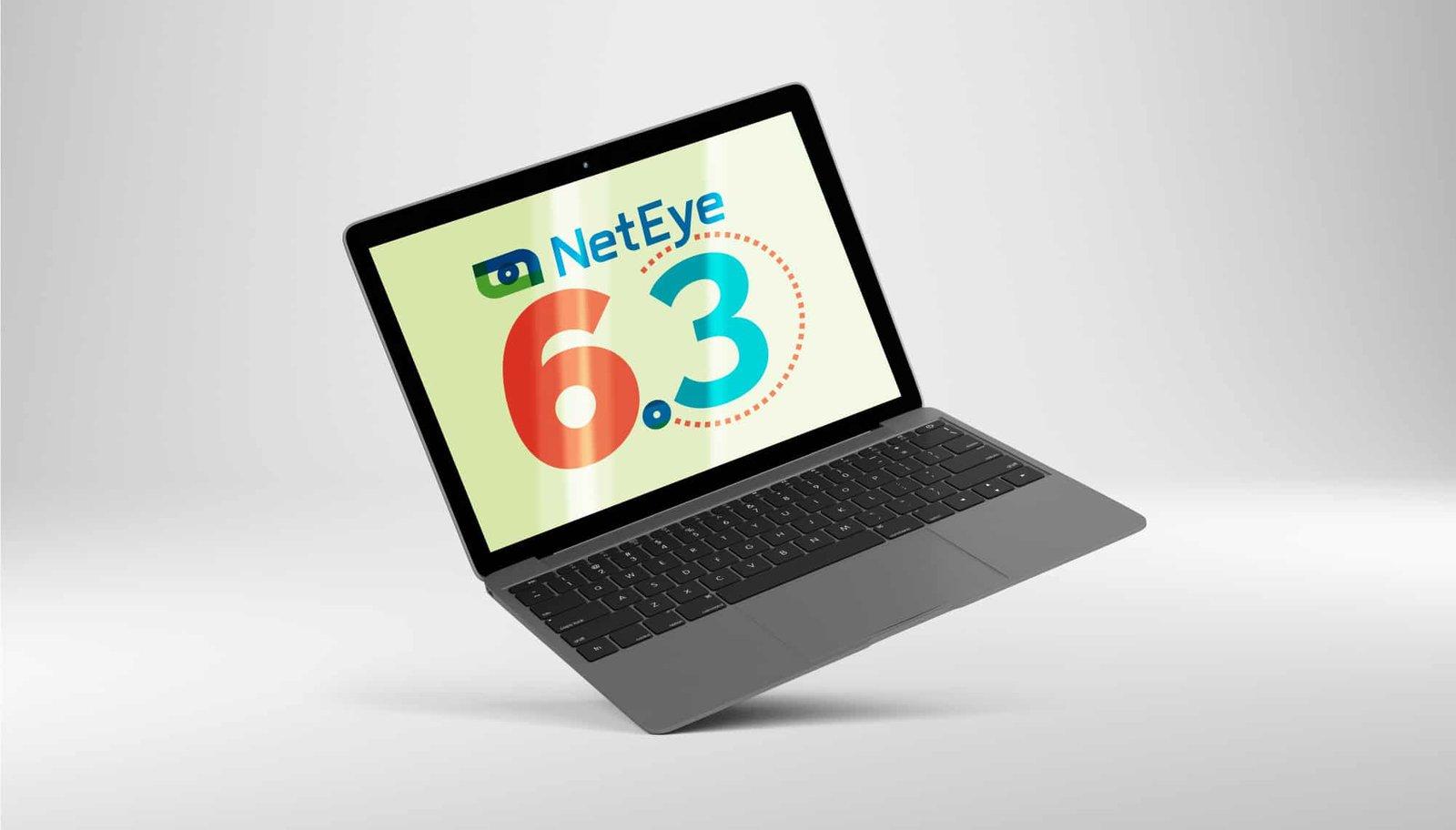 Versão 6.3 do NetEye em Notebook